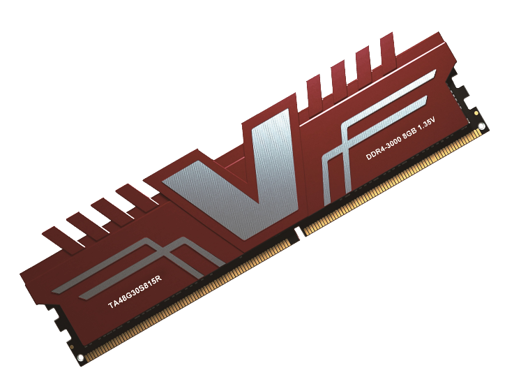 V COLOR RED HEATSINK